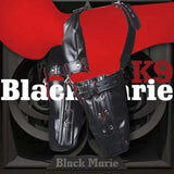 Black Marie Japanese Quality Puppy Play Bondage Suit - Cum Splash