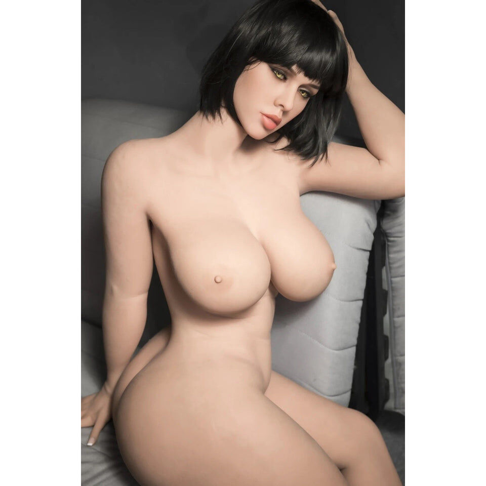 Russian, Nerdy, Thick 163cm Black Hair Girl Sex Doll - Cum Splash