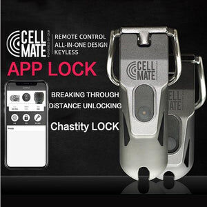 Cellmate App Enabled Remote Chastity Cage - Cum Splash