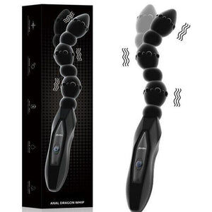 10 Speed High Frequency Vibrating Prostate Whip
