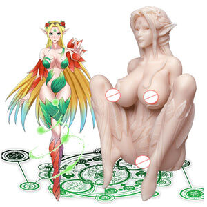 Male masturbator - 3D silicone anime sex doll - Cum Splash