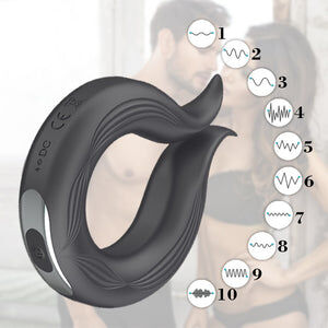 Vibrating Penis Ring for Men
