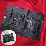 Luxury Design Premium Leather BDSM Set (8 Pcs) - Cum Splash