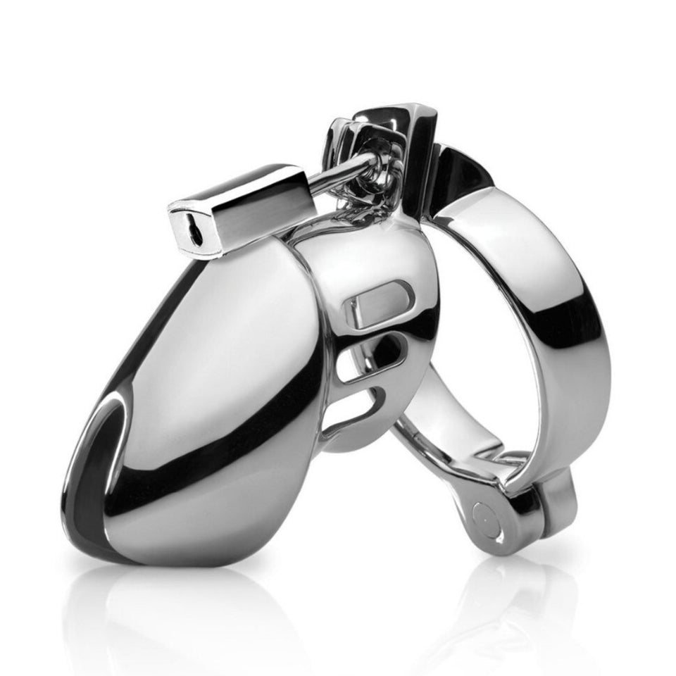 CB6000 Metal Chastity Cage - Cum Splash