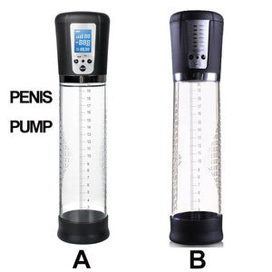 Male Masturbator - Electric Penis Enlarger Vacuum Pump - Cum Splash